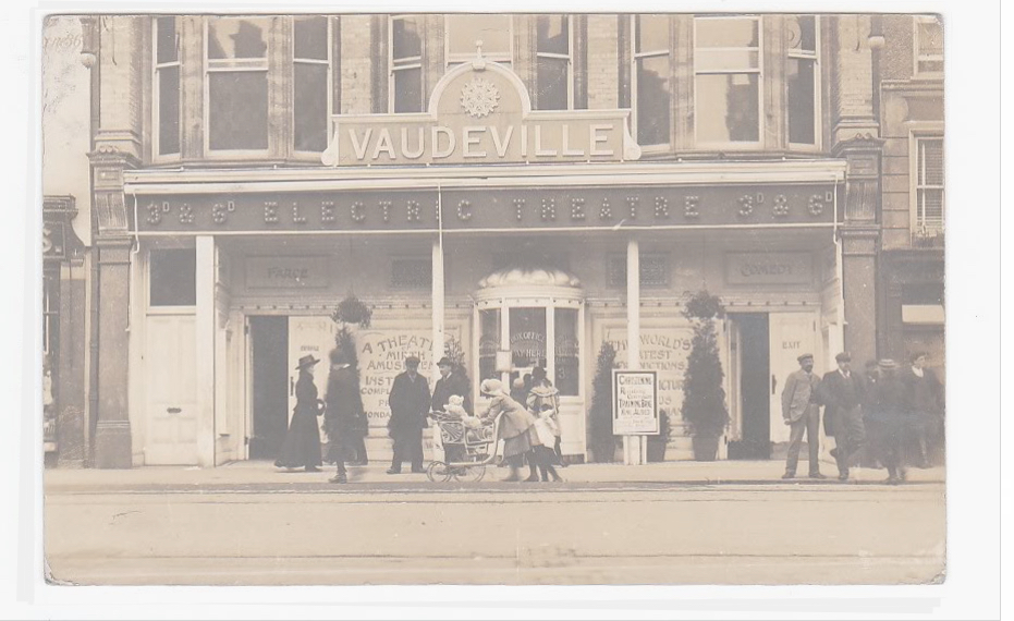 Vaudeville Theatre straightened